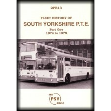 2PB13 ~ South Yorkshire PTE (2nd Edition) - Part 1 1974-78