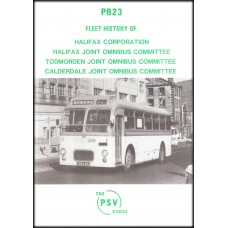 PB23 ~ Halifax Corporation, Halifax JOC, Todmorden JOC, Calderdale JOC