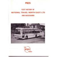 PB25 National Travel (North East) & Successors