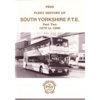 PB29 South Yorkshire PTE - Part 2 1979-86
