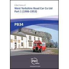 PB34 West Yorkshire Road Car Co Ltd. Part 1 (1906 - 1953)