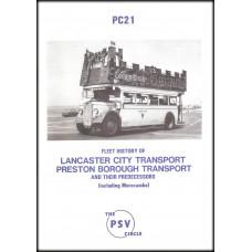 PC21 ~ Lancaster City Transport, Preston Borough Transport