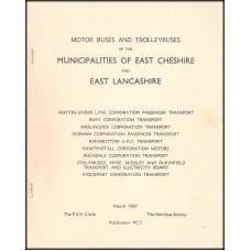 PC5 ~ Municipal Operators of East Cheshire & East Lancashire