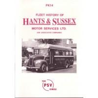 PK14 Hants & Sussex Motor Services (reprinted Dec-1994)