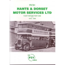 PK781 Hants & Dorset Motor Services Part 1 1916-49 (reissue)
