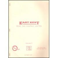 PK9 ~ East Kent Road Car Company