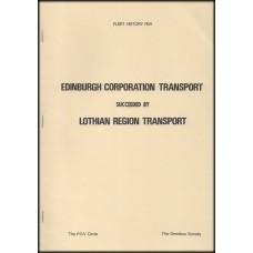 PM1 ~ Edinburgh Corporation, Lothian Region