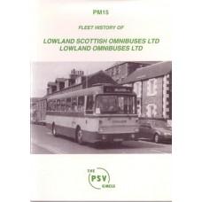 PM15 Lowland Scottish Omnibus Ltd., Lowland Omnibus Ltd.