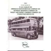 PM18 Dunlop, Greenock MS, Rothesay Tramway, Paisley & District, Youngs Bus Services Ltd