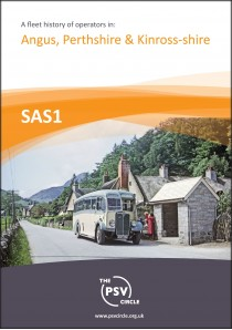 SAS1 A Fleet History of Operators in Angus, Perthshire & Kinross-shire