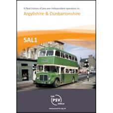 SAL1 A Fleet History of Operators in Argyllshire & Dunbartonshire
