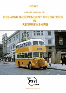 SRW1 Pre-War Independent Operators in Renfrewshire
