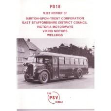 PD18 Burton upon Trent, East Staffs, Victoria, Viking, Wellings