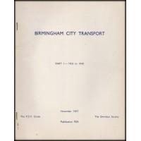 PD9 ~ Birmingham City Transport part 1
