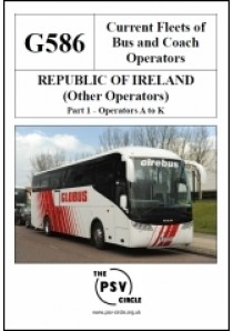 G586 Republic of Ireland Other Operators Part 1: A to K