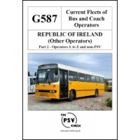 G587 Republic of Ireland Other Operators Part 2: L to Z