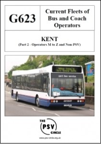G623 Kent Part 2 Operators M to Z and Non-PSV