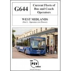 G644 West Midlands Part 1: Operators A to Weaver