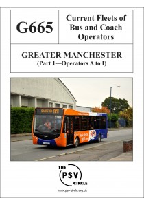 G665 Greater Manchester Part 1: Operators A - I