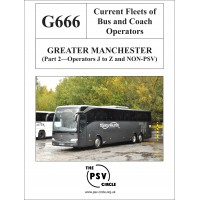G666 Greater Manchester Part 2: Operators J - Z and Non-PSV