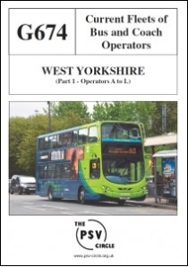 G674 West Yorkshire Part 1: Operators A–L