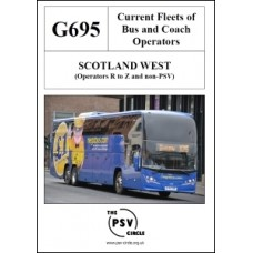 G695 Scotland West Part 3: Operators R to Z and Non-PSV