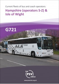 G721 Hampshire Part 2: operators S to Z & Isle of Wight