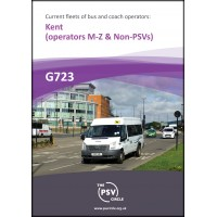 G723 Kent Part 2: operators M to Z and Non-PSV