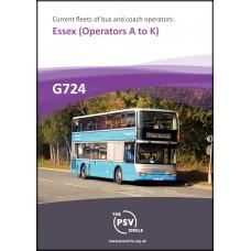 G724 Essex Part 1: operators A-K