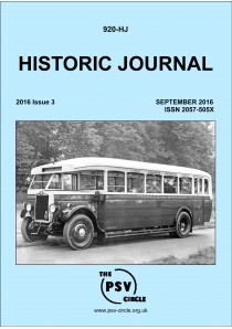 HJ920 Historic Journal (September 2016)