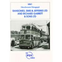 MM1 Ransomes, Sims & Jefferies Ltd and Richard Garrett & Sons Ltd.