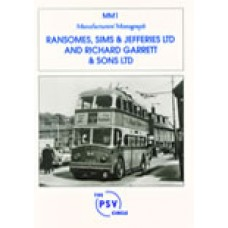 MM1 Ransomes, Sims & Jefferies Ltd and Richard Garrett & Sons Ltd.