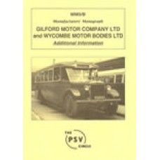 MM5B Gilford Motor Company Ltd and Wycombe Motor Bodies Ltd Additional Information