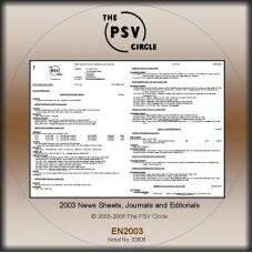 EN2003 2003 News Sheet CD-Rom