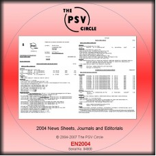 EN2004 2004 News Sheet CD-Rom