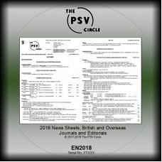 EN2018 2018 News Sheet CD-Rom