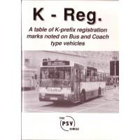 K-REG K-Prefix Registration Marks