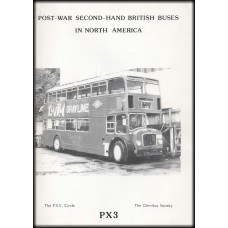 PX3 Post War Second-Hand British Buses in North America